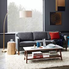 Overarching Floor Lamp Shade by Excellent Overarching Linen Shade Floor Lamp Polished Nickel West