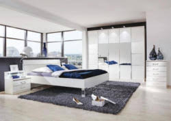 vito komplett schlafzimmer 4 tlg in weiß weiß