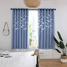 de cottoni kurzgardinen für schlafzimmer wohnzimmer