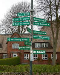 100 Island Of Fohr Village Crossroads On The North Frisian Island Of Fhr Flickr