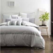 housse de couette linen chest housse de couette grise imprime pied de poule linge de lit