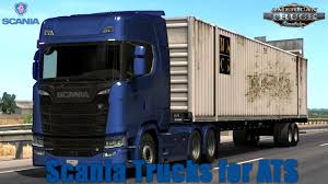 100 Scania Truck ATS S V15 Update 130x ATS Mods American