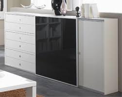 toro modernes sideboard mit schiebetüren weiß lack und mehr farben