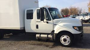 For Sale - 2014 International TerrStar Extended Cab Box Truck - YouTube