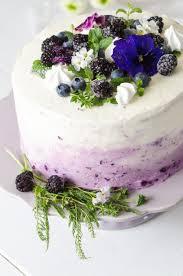 ombre torte mit heidelbeeren baking barbarine