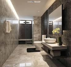 badezimmer ideen fließen in marmor optik kleines bad