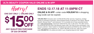 Ulta: $15 Off $50 | 20% Off Entire Purchase + 50% Off Laura ... Ulta Free Shipping On Any Order Today Only 11 15 Tips And Tricks For Saving Money At Business Best 24 Coupons Mall Discounts Your Favorite Retailers Ulta Beauty Coupon Promo Codes November 2019 20 Off Off Your First Amazon Prime Now If You Use A Discover Card Enter The Code Discover20 West Elm Entire Purchase Slickdealsnet 10 Of 40 Haircare Code 747595 Get Coupon Promo Codes Deals Finders This Weekend Instore Printable In Store Retail Grocery 2018 Black Friday Ad Sales Purina Indoor Cat Food Vomiting Usa Swimming Store