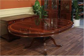 Unbelievable Round To Oval Dining Room Table With Leaf 36 X 60