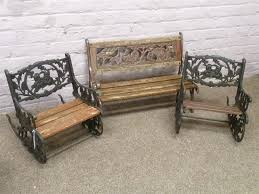 Pair Children's Cast Iron And Wood Slatted Rocking Chairs ... Agha Rocking Chair Outdoor Interiors Magnificent Wrought Iron Chairs Vintage Garden Table Black Leather Chaise Lounge Modern Fniture Living Wood And Amazonin Home Kitchen Victorian Peacock Lawn Patio Set Best Images About On 15 Collection Of 4 French Folding Metal Teak Seat Bistro Amazoncom Bs Antique Bronze Scoll Ornate Cast In Worsbrough South Yorkshire Gumtree Surprising Bedroom House Winsome