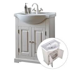badezimmer möbel set inkl keramik waschbecken 65 cm 4 teilig liria 56 massivholz b x h x t ca 125 x 200 x 43 cm