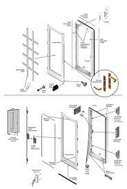 Andersen 200 Series Patio Door Lock by 200 Series Hinged Patio Door Single Panel