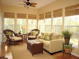 Classic Bamboo Roman Shades Sunroom DecoratingSunroom IdeasPorch