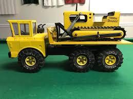 100 Vintage Tonka Truck Custom Mighty Ramp Hoist W Dozer 70s Toys