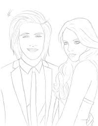 Beck On Victorious Coloring Pages