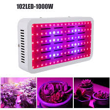 102led 1000w led grow lights bulbs for indoor plant hydroponic
