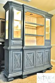 possible paint color for my hutch re do office space