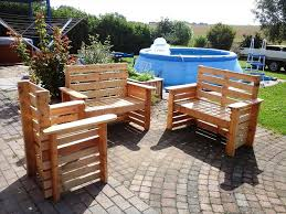 diy wooden pallet patio furniture set 101 pallet ideas
