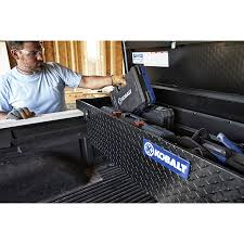 100 Black Truck Box Kobalt 714in X 196in X 174in Aluminum FullSize Top