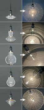 large bulb pendant light large led hanging pendant light bulb by