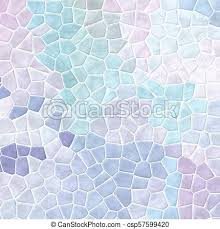 Abstract Nature Marble Plastic Stony Mosaic Tiles Texture Background With White Grout