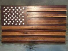 American Flag Challenge Coin Display Board