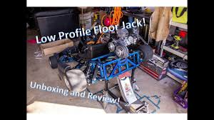 harbor freight 3 ton low profile floor jack unboxing and