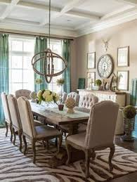 A Symphony In Beige Dinning Room Curtains Colors Table Decor