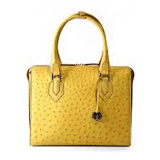 genuine ostrich leather handbag via la moda via la moda 1691