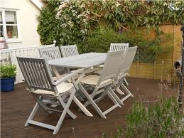 Fancy White Outdoor Table And Chairs 25 Best Ideas About Wooden