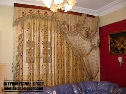 Modern Valances For Living Room by Luxury Drapes Luxury Drapes Curtain Design Bright Style For