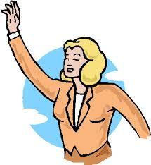 clip art waving