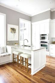 gray kitchen anonymous paint color tile maple cabinets light grey