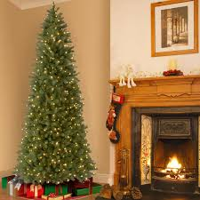 9ft Pencil Christmas Tree by 2 74 M 9 Ft Feel Real Bayberry Spruce Slim Christmas Tree