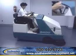 features of the tennant 6400 ride on floor scrubber youtube