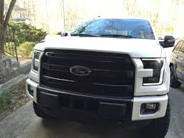 100 Grills For Trucks Swap Platinum Chrome Grill And Chrome Bumper For Matte Black Grill
