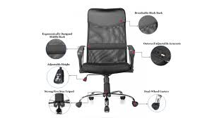 Mesh Office Chair | Adjustable High Back Mesh Office Chair Moustache ... Extra Wide 500 Lbs Capacity Leather Desk Chair W 28w Seat Rh Logic 400 Ergonomic Office From Posturite Melton High Back Mandaue Foam Lr5382 Modliving Mid Ribbed Italian Modernday Designs Milan Direct Ergohuman Plus Elite V2 Mesh Reviews Top 9 Best Brands Of The 2019 Markus Chair Glose Black Ikea Wendell Living Spaces Amazonbasics Black Amazonin Home Kitchen