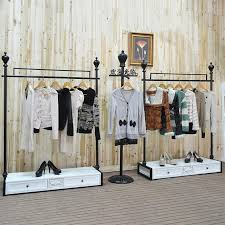 2018 Clothing Store Display Hanger Wedding Dress Rack Shelf Floor Coat Iron From Xwt5242 87241