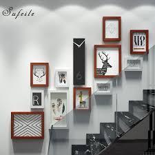 sufeile 11 teile satz kombination rahmen europäischen klinker kombination rahmen moderne wohnzimmer dekoriert mit foto wand 17q4d30