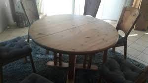 esszimmer tisch 6 stühle massiv kiefer gelaugt geölt