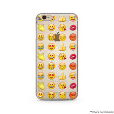 Emoji iPhone Case iPhone 6 plus clear case Transparent iPhone