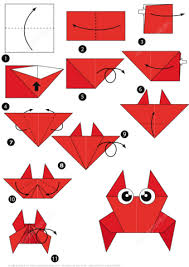 Click To See Printable Version Of How Make An Origami Crab Step By Instructions
