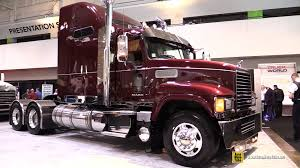 2016 Mack Pinnacle CHU613 70 Midrise Rowhide Sleeper Truck-Exterior ...