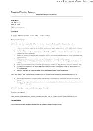 Teacher Assistant Resume Example Early Gallery For Website Preschool Cover Skills