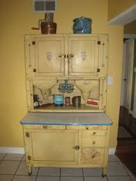 What Is A Hoosier Cabinet Worth by Vintage Hosier Kitchen Cabinet Set Antique Appraisal