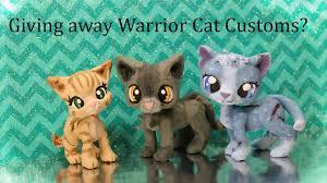 warrior cat giving away warrior cat customs