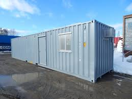 100 Shipping Containers 40 Maine Trailer Purchase An Insulated Finished Shipping Container