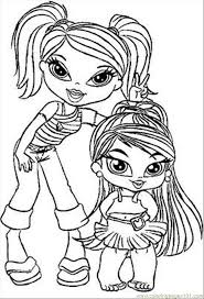 Gallery Of Brilliant Ideas Bratz Coloring Pages Free 2 With Sheets
