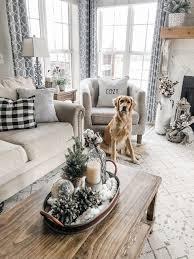 gemütliches winter wohnzimmer dekor der perfekte übergang