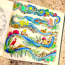 Enchanted Forest Colouring In For Grown Ups Loveleah Things