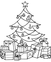 Find The Idea For Christmas Tree Coloring Page Allmadecine Weddings Pages Ornaments Printable